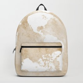 Design 82 world map sepia Backpack