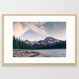 Mount Kerkeslin Framed Art Print
