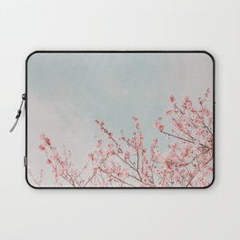 Pink Flowers in the Sky Laptop Sleeve