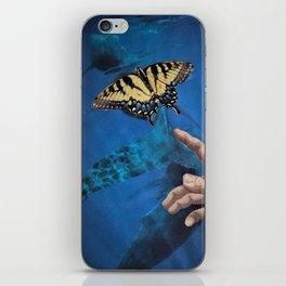 Down Here, We All Float (Underwater Butterfly & Mermaid) iPhone Skin