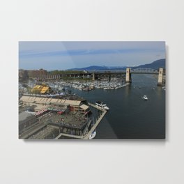 Sea Market Metal Print