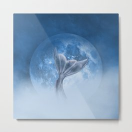 Mermaid Dreams Metal Print