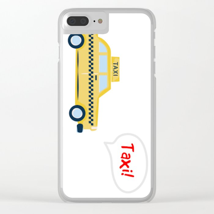 Taxi! - for arp - Clear iPhone Case