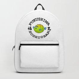 Sushi Bar (White/Black) Backpack