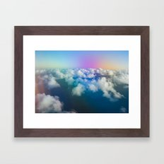 Cloud Dream Framed Art Print