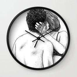 asc 822 - Les belles bouclettes (love is) Wall Clock