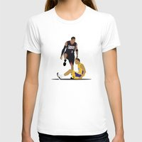 lakers T-shirts featuring Step Over Lue by Steven Paris