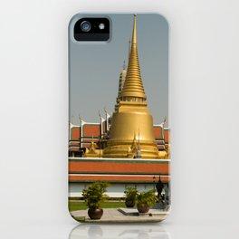 The Grand Palace, Bangkok, Thailand iPhone Case
