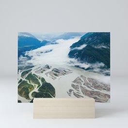 juneau, alaska Mini Art Print