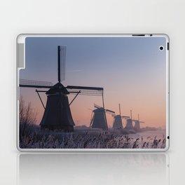 Sunrise at Kinderdijk II Laptop & iPad Skin