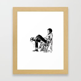 The Cowboy from the East Framed Art Print