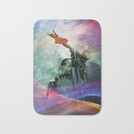 Rainbow Mist Bath Mat