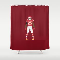 Chiefs Kingdom- Jamaal Charles Shower Curtain