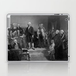Washington Delivering His Inaugural Laptop & iPad Skin