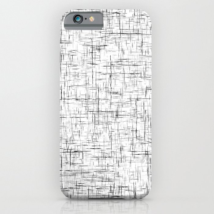Ambient 77 in B&W 1 iPhone Case
