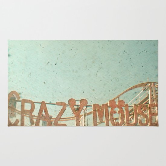 Crazy Mouse Rug