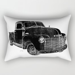 Vintage Chevy 3100 Truck Rectangular Pillow