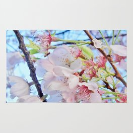 Under the Cherry Blossom Tree-picture #2 Rug