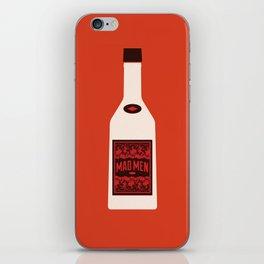 Bottle Mad Men iPhone Skin