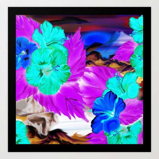 Aloha - Sunrise Art Print