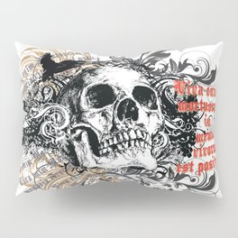 The life of the dead is retained in the memory of the living Pillow Sham