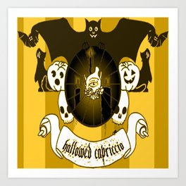 Hallowed Capriccio Logo (Stripes) Art Print