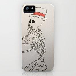 Bones and Coffee iPhone Case