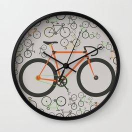 Fixed gear bikes Wall Clock