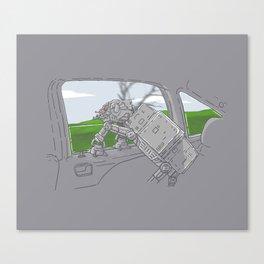 Cruisin' Walker Canvas Print