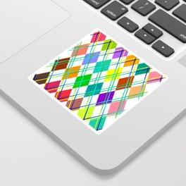 Argyle Sticker
