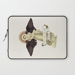 What Will the Girl Become? Laptop Sleeve