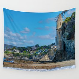 Sunny Day at Victoria Beach Wall Tapestry