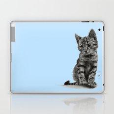 Kitty - PENCIL DRAWING Laptop & iPad Skin
