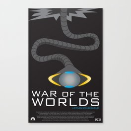 War of the Worlds Movie Poster Canvas Print