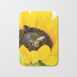 Sunflower 2 Bath Mat