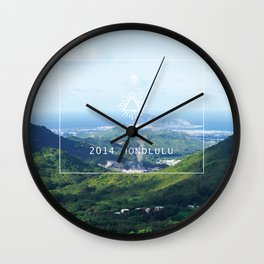 Nu'uanu Pali Wall Clock