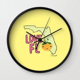 Love, Florida Wall Clock