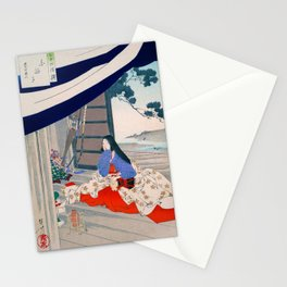 Mizuno Toshikata - Top Quality Art - Shirabyoshi Stationery Cards