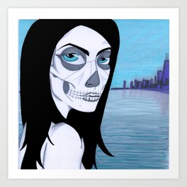 La Muerta Art Print