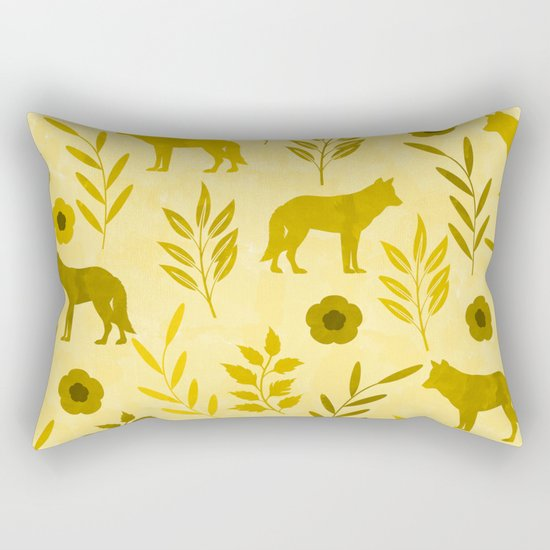 Forest Animal and Nature III Rectangular Pillow