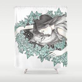 WolfSpirit Shower Curtain