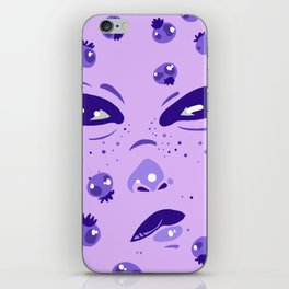 blueberry iPhone Skin