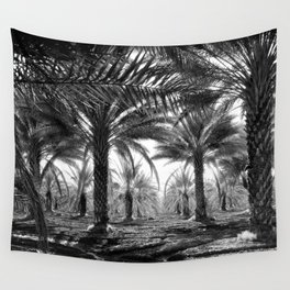 Vintage Palms Trees : Coachela Valley California 1937 Wall Tapestry