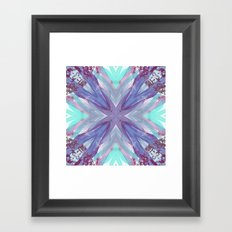 Watercolor Abstract Framed Art Print