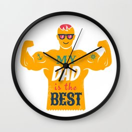Father Wall Clock