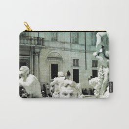 Neptune Fountain Rome Italy Carry-All Pouch