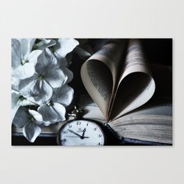 Time To Love Canvas Print