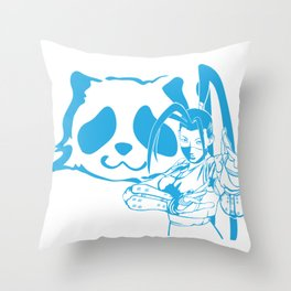 SFV IBUKI Throw Pillow