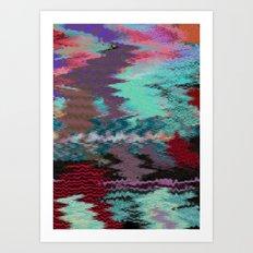 Tapestry Landscape  Art Print