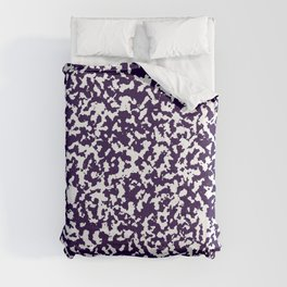 Purple And White Abstract Minimal Seamless Patterns Comforters